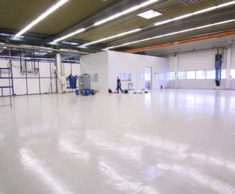 Industrieboden Sanierung - Biberach Riss